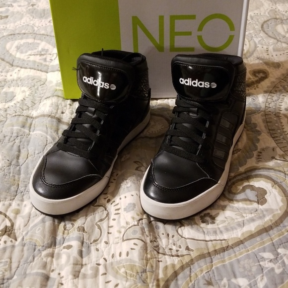Adidas Shoes Neo Ankle High Tennis Sneakers Poshmark